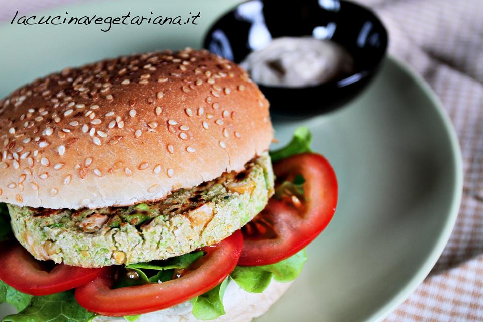 Veggie Burger ricetta