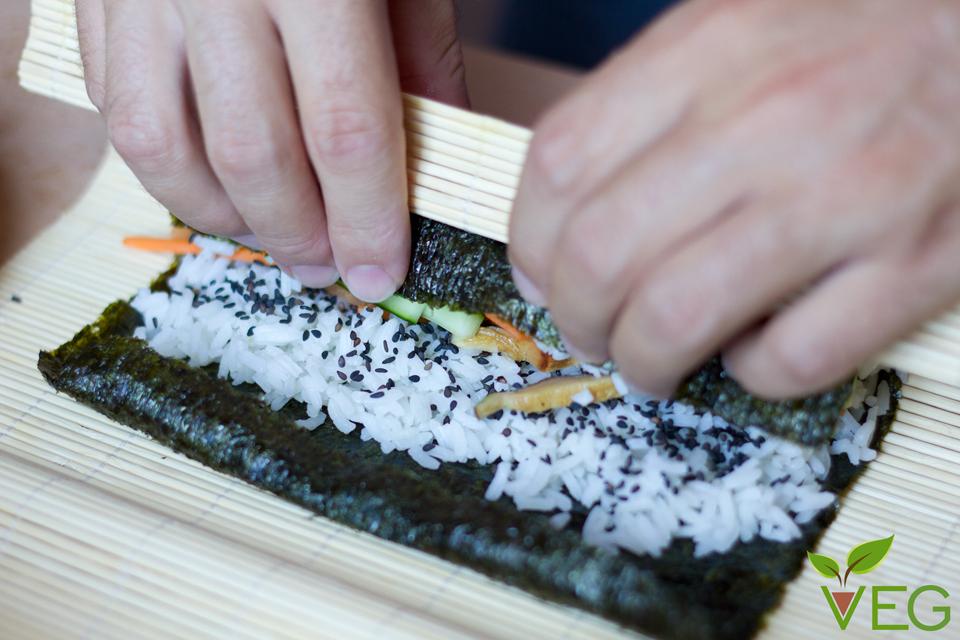 Veggie sushi 11