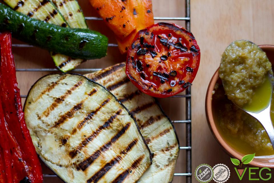Verdure alla griglia (grigliata di verdure)