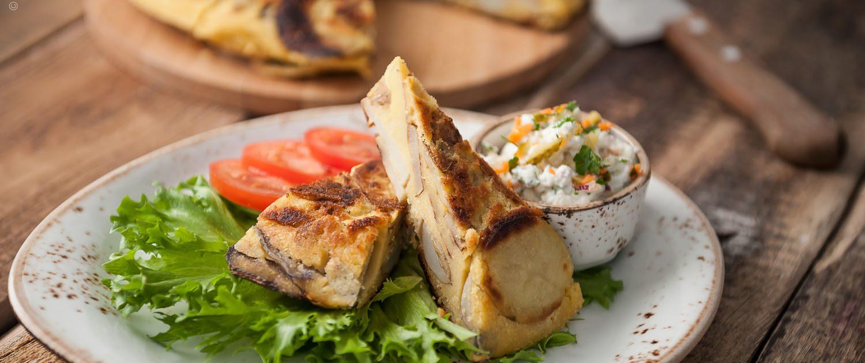 Tortilla di patate vegan