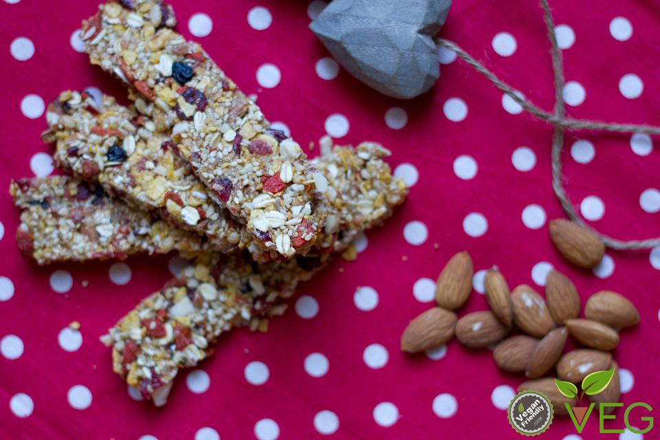 Barrette di cereali ai frutti rossi1