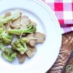 Seitan con broccoli1