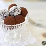 tartufi al cioccolato vegan