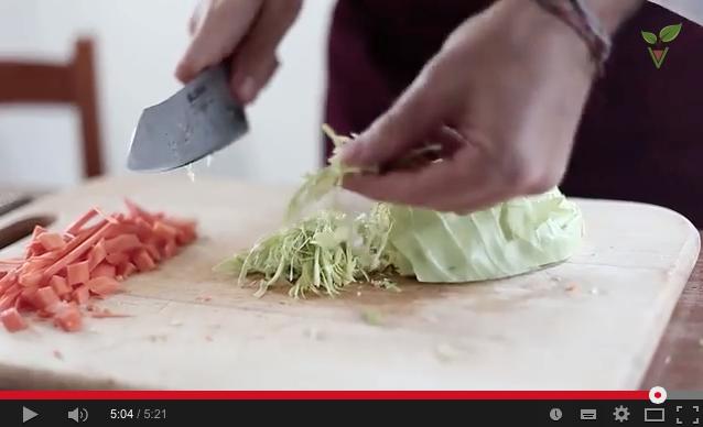 Come tagliare le verdure: la scuola di cucina, come tagliare