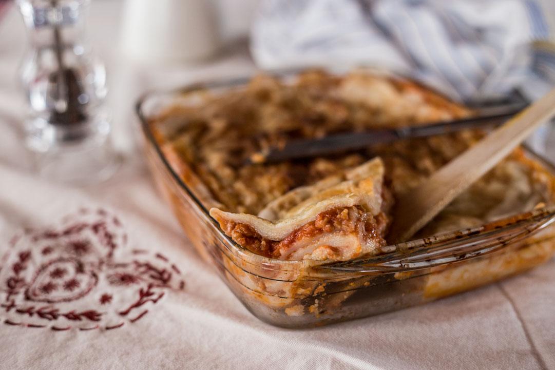 lasagne alla bolognese vegan