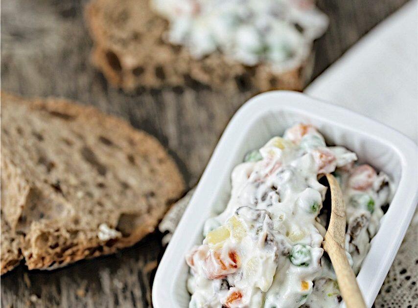 Preparare l'insalata russa senza uova? Ecco la versione vegana!