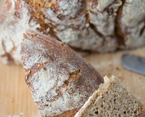 Pane di segale con il lievito madre