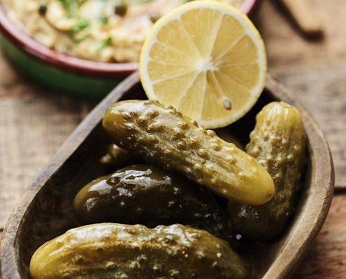 La ricetta per degli ottimi cetrioli fermentati croccanti!
