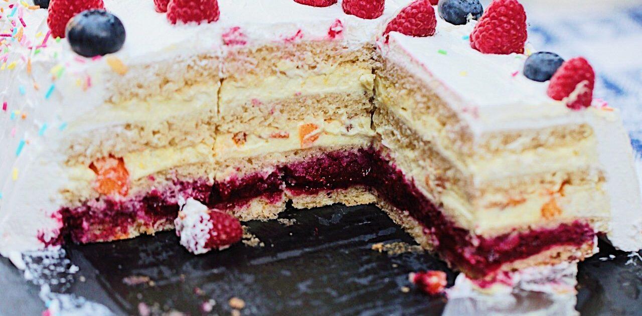 Volete preparare una buonissima torta di compleanno vegan? Ecco la nostra ricetta!