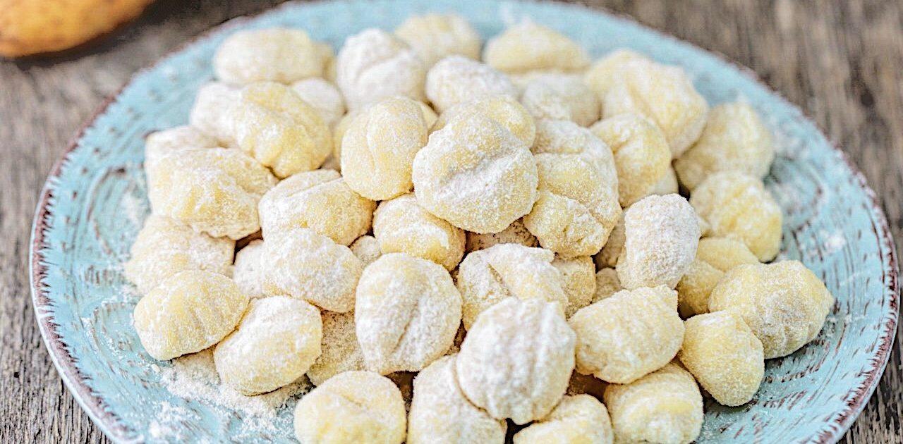 Gnocchi di patate senza uova fatti in casa