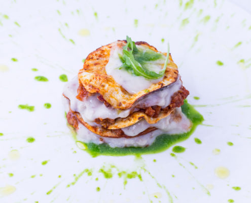 Il meglio della lasagna: chef Martino Beria per Panasonic Italia