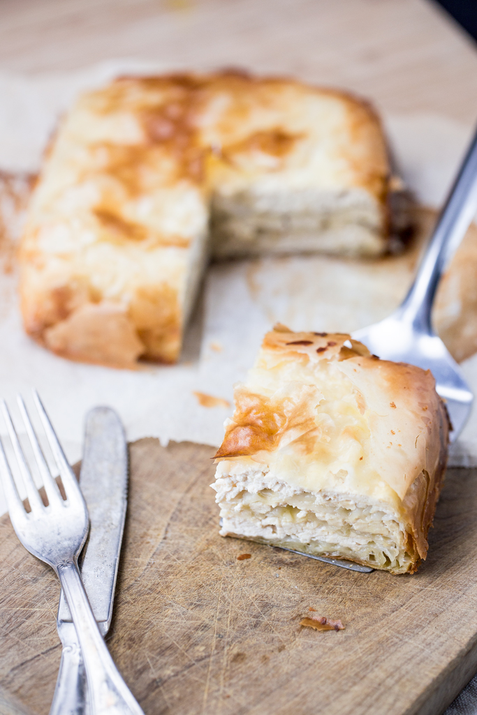 La ricetta vegana del burek croato