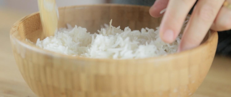 Ecco come cuocere il riso al vapore