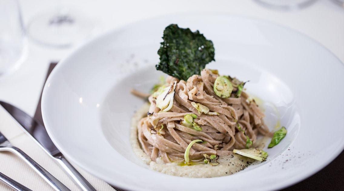 Una pasta con topinambur favolosa, fatta di pochi e semplici ingredienti!