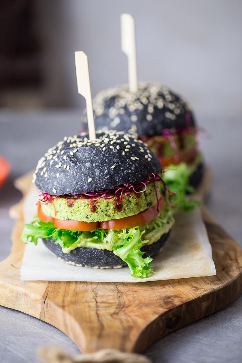 Burger di edamame
