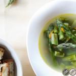 Ricetta zuppa di asparagi