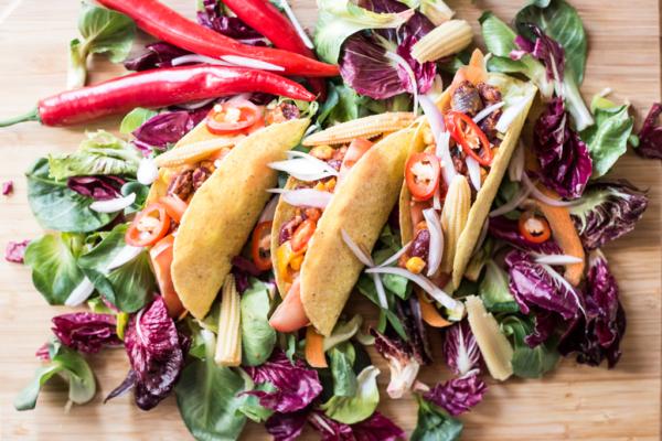La ricetta dei tacos messicani vegan
