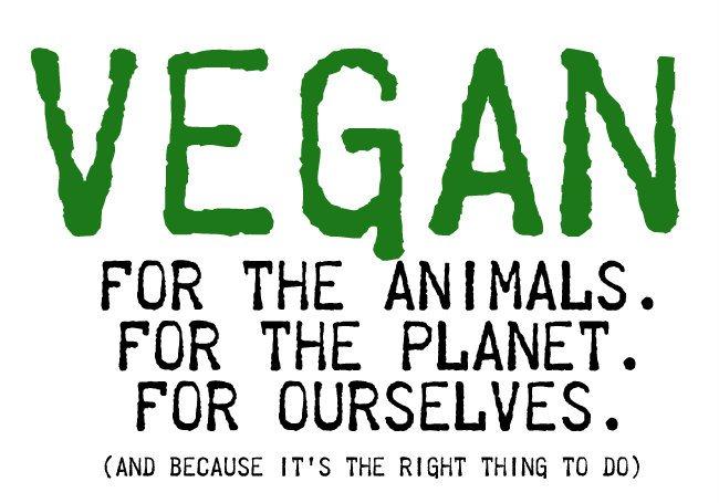 perché diventare vegani è un bene