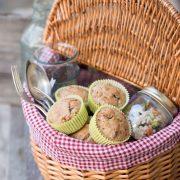 Ecco i nostri muffin salati senza uovo