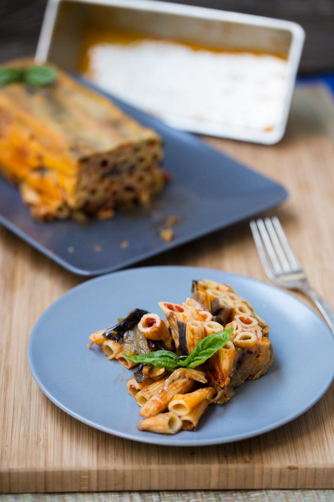 Seguite la nostra ricetta della pasta al forno veg!